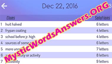 december-22-mystic-words