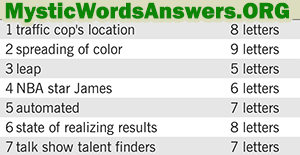 January 11 7 little words bonus answers