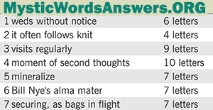 January 18 7 little words answers