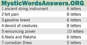 January 8 7 little words bonus answers