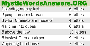 February 23 7 little words bonus answers