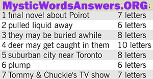 May 25 7 little words bonus answers