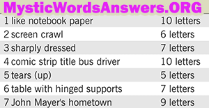 June 14 7 little words bonus answers