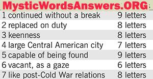 June 6 7 little words bonus answers