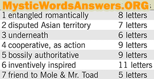August 22 7 little words bonus answers