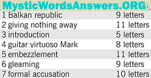 September 22 7 little words bonus answers