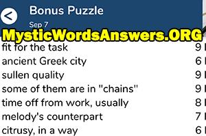 Ancient Greek city 6 letters - 7 Little Words
