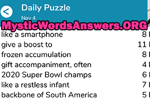 Restless Desire Crossword Clue