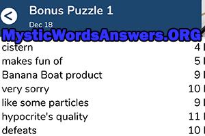 Makes Fun Of 7 Little Words Bonus